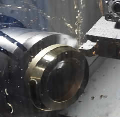 CNC Machine Closeup | Midland MFG Co.